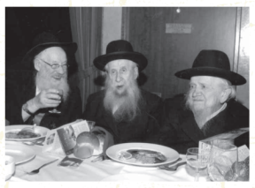 Photo of Rabbis Gerlitsky, Hendel, Gringlass